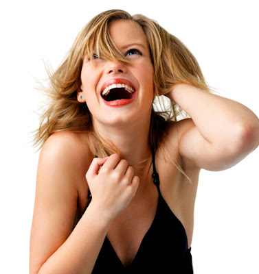 The Importance of Making Women Laugh - woman-laughing