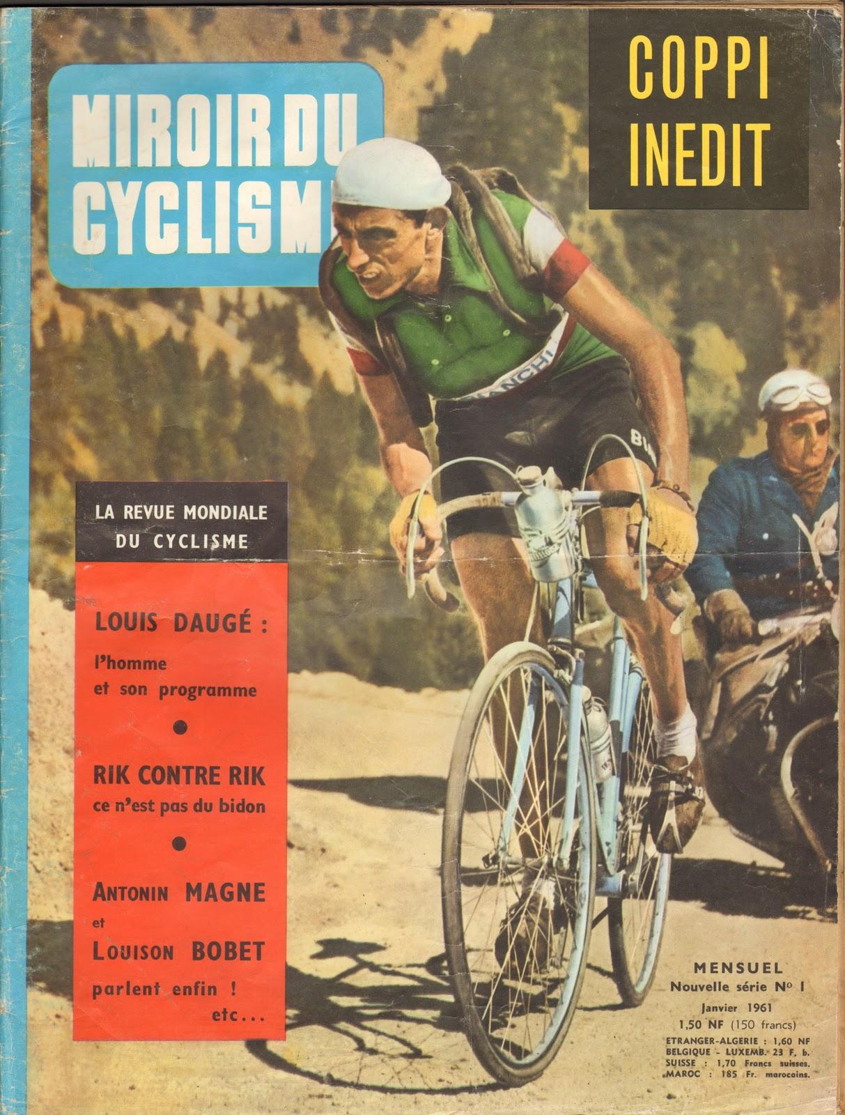 Mon tour de france 1959 la suite poulidor la une de for Le miroir du cyclisme