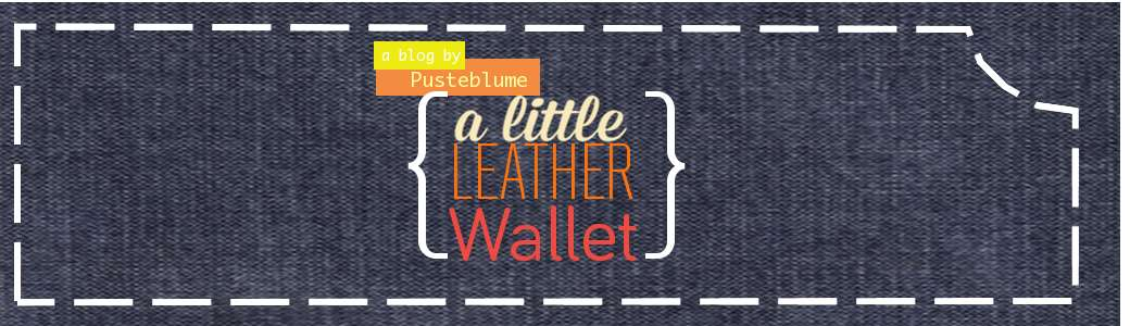 a little leather wallet
