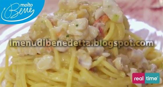 Tagliolini con Sugo di Triglia e Salsa di Cannellinidi Benedetta Parodi