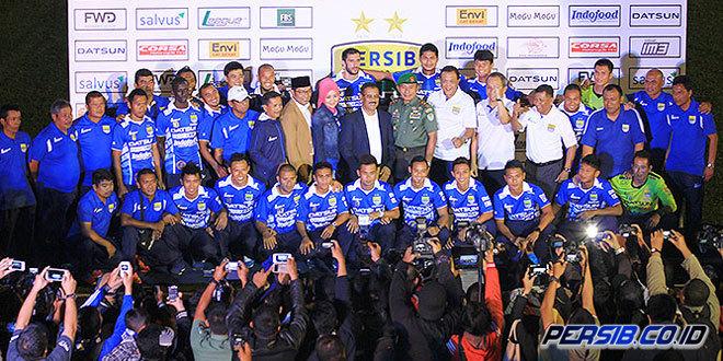 Daftar Pemain Persib Bandung untuk ISL 2015