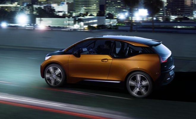 BMW i3 Coupe side view
