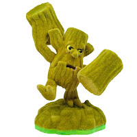 Flocked Stump Smash
