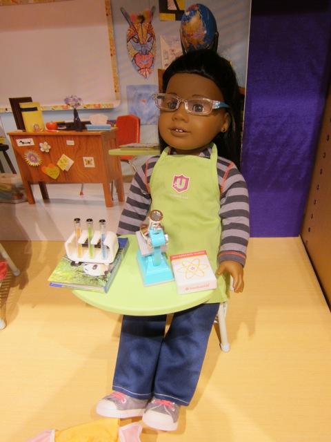 American Girl science set