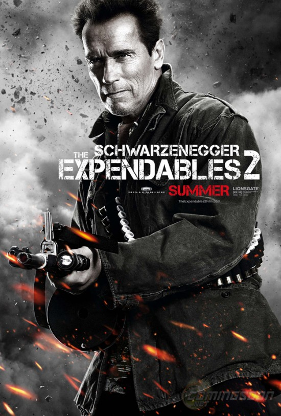 expendables 2 character posters teaser trailer