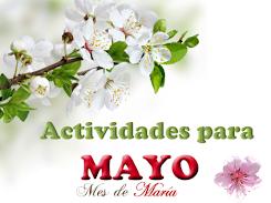 ACTIVIDADES PARA EL MES DE MAYO