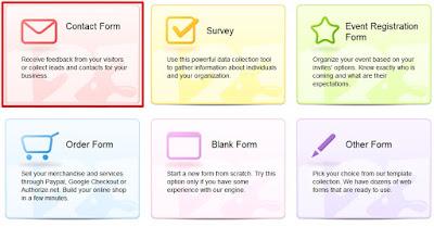 criar um formulário