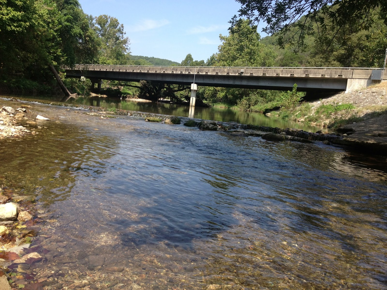 Miles to go before i sleep roaring river state park for Roaring river fish hatchery