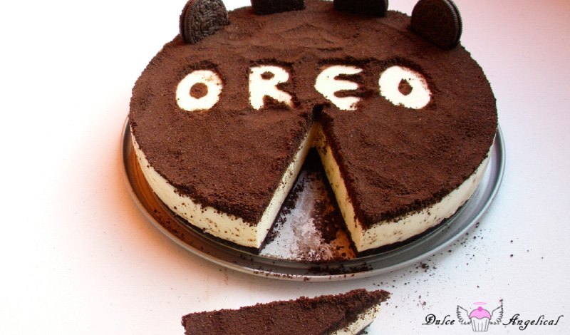 Receta de tarta de Oreo