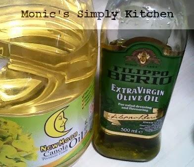Jenis lemak pada cooking oil