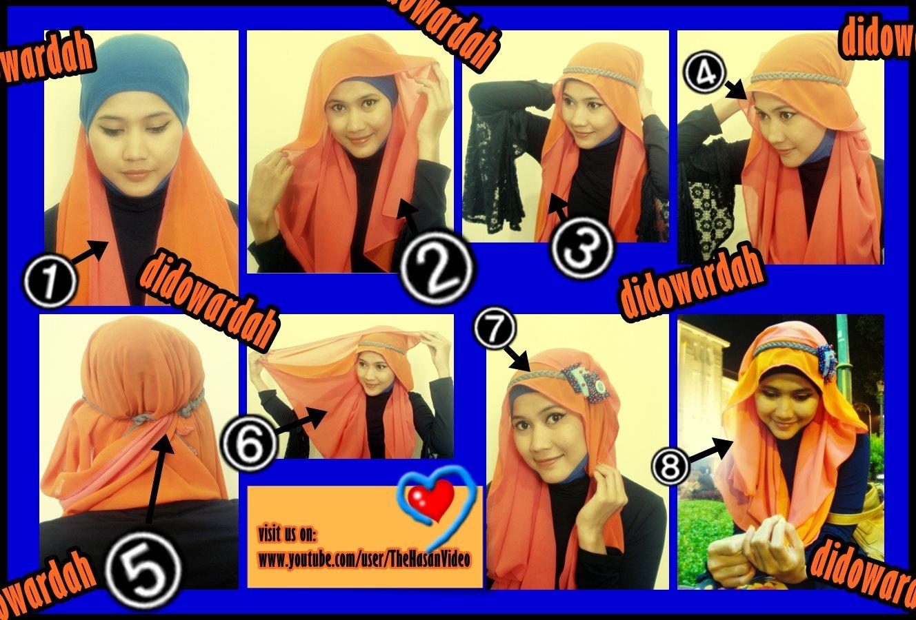 Tutorial Jilbab Untuk Hijaber Indonesia Tutorial Jilbab Pashmina