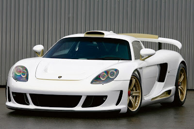 porsche-carrera-gt-mirage-gt-white-gold-edition-front