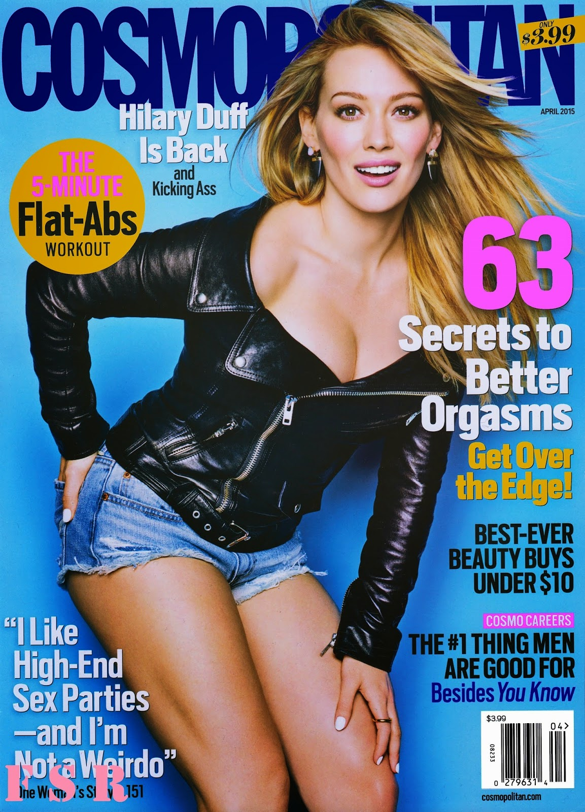Singer, Actress @ Hilary Duff - Cosmopolitan USA, April 2015