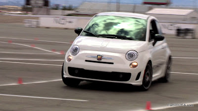 Fiat 500 Abarth at Abarth Experience