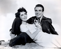 Montgomery Clift. liz taylor