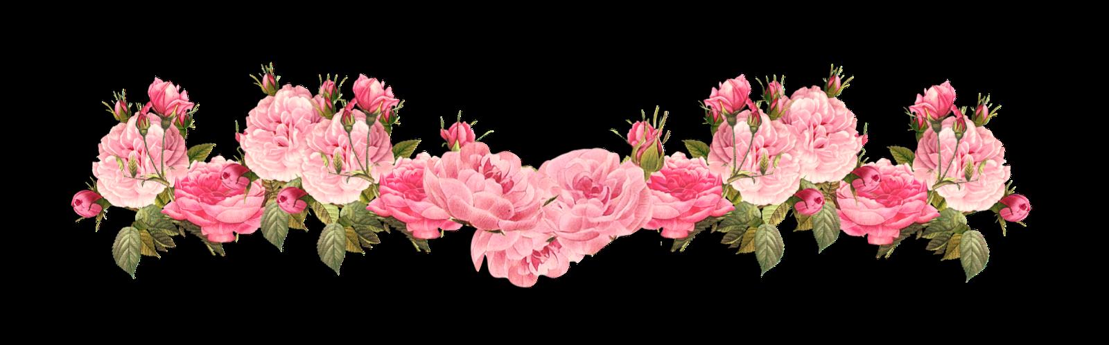 Vintage floral background png
