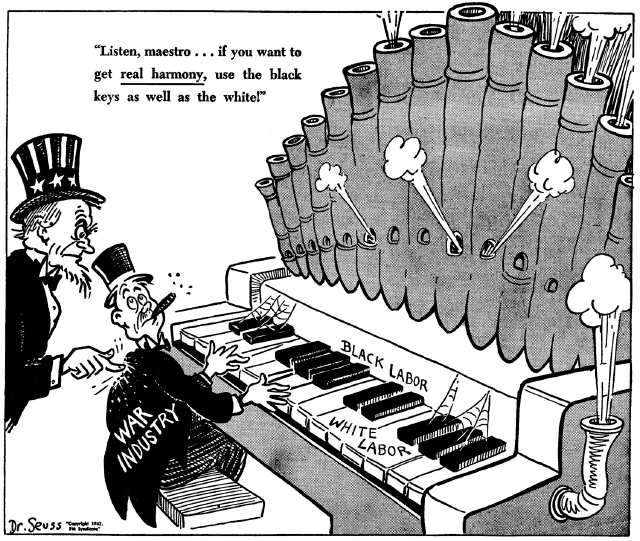 theodor geisel s political significance during world On thursday, dr seuss enterprises, the san diego-based company that  an  uproar in all the usual places where america's cultural and political  in world  war ii, of the damage of prejudice and the importance of his role in.