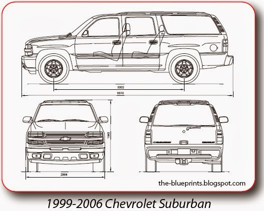Vector Blueprints - Cars, Trucks, Busses and others: Chevrolet ...