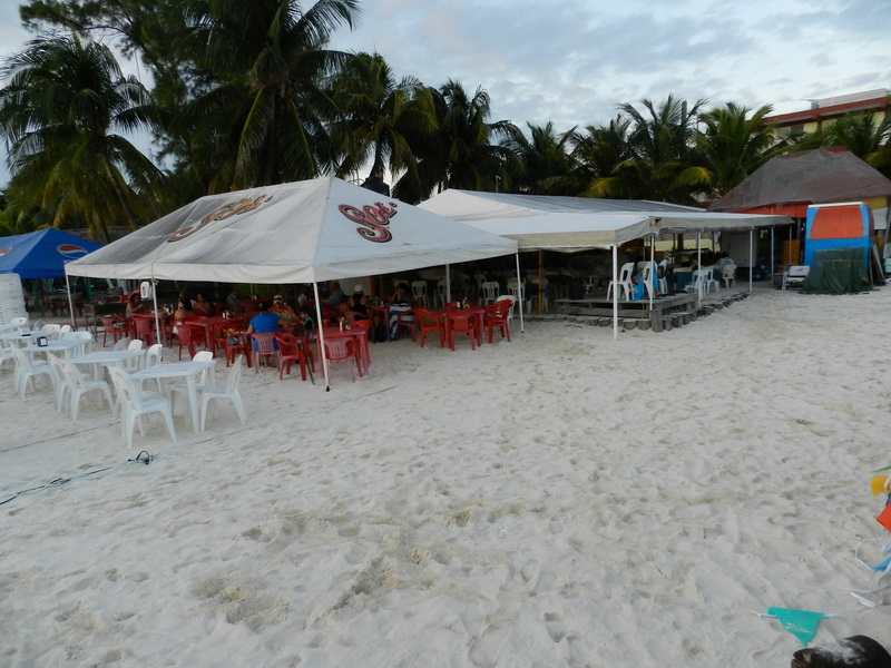 restaurante en Isla Mujeres