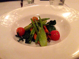 The Grill, Stirling Hotel - Stirling - Baby roasted vegetables