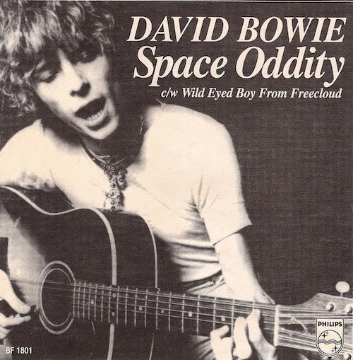 "Bowie ""Space Oddity"" Record Cover image"