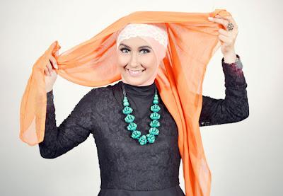 Cara+memakai+jilbab+segi+empat+turban+2 Cara Memakai Jilbab Segi Empat Turban