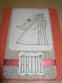 Stampin Up Wedding Cake Stamp