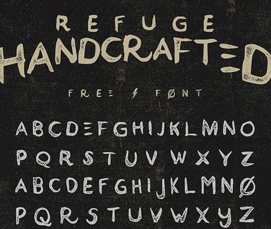 Refuge free font