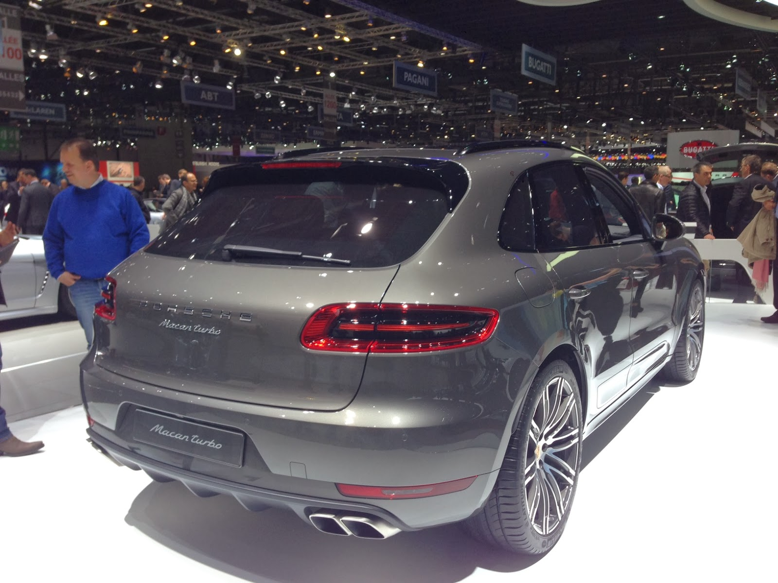 Porsche Macan at Geneva Motor Show
