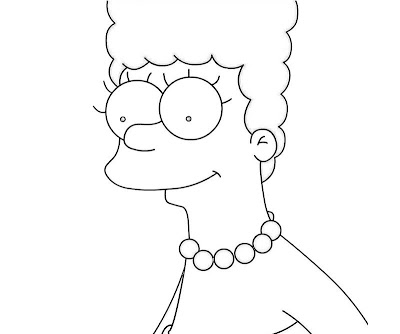Simpsons Coloring Pages Games Colorings