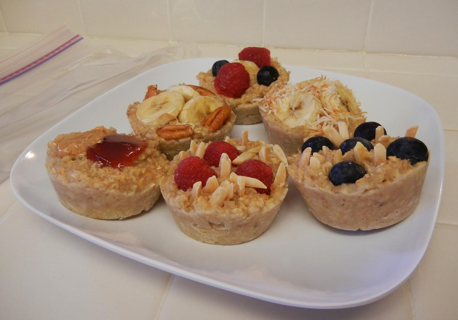 Eggface+Frozen+Oatmeal+Patties+4 Weight Loss Recipes Quick Breakfast: Frozen Oatmeal Discs