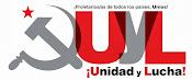 Pàgina web del Unidad y Lucha (ÒRGAN D'EXPRESSIÓ DEL PCPE)
