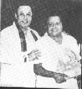 MGR & 'Seergazhi' Govindarajan