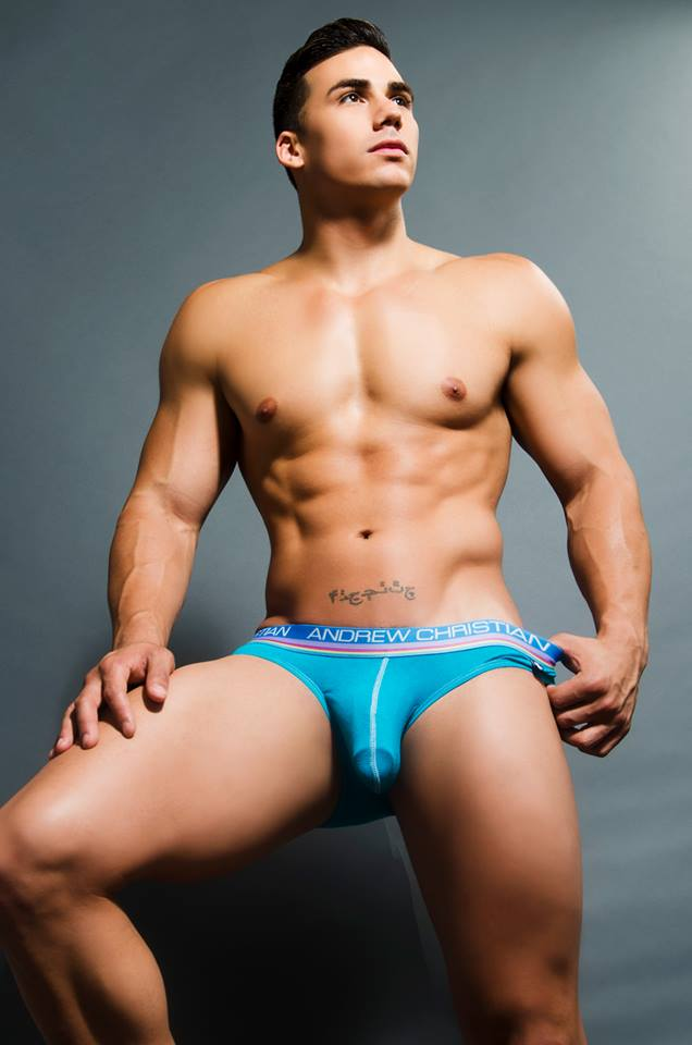Topher Dimaggio For Andrew Christian Topdrawers Apparel