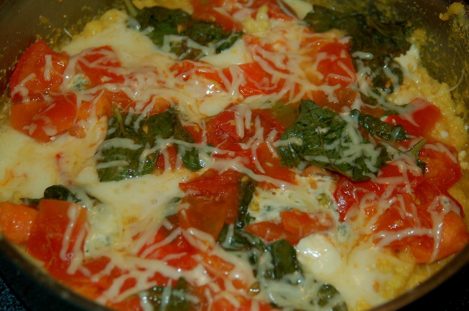 Createliveflourish baked 3 cheese polenta - Baked polenta cheese recipes ...