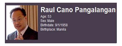 Raul Pangalangan