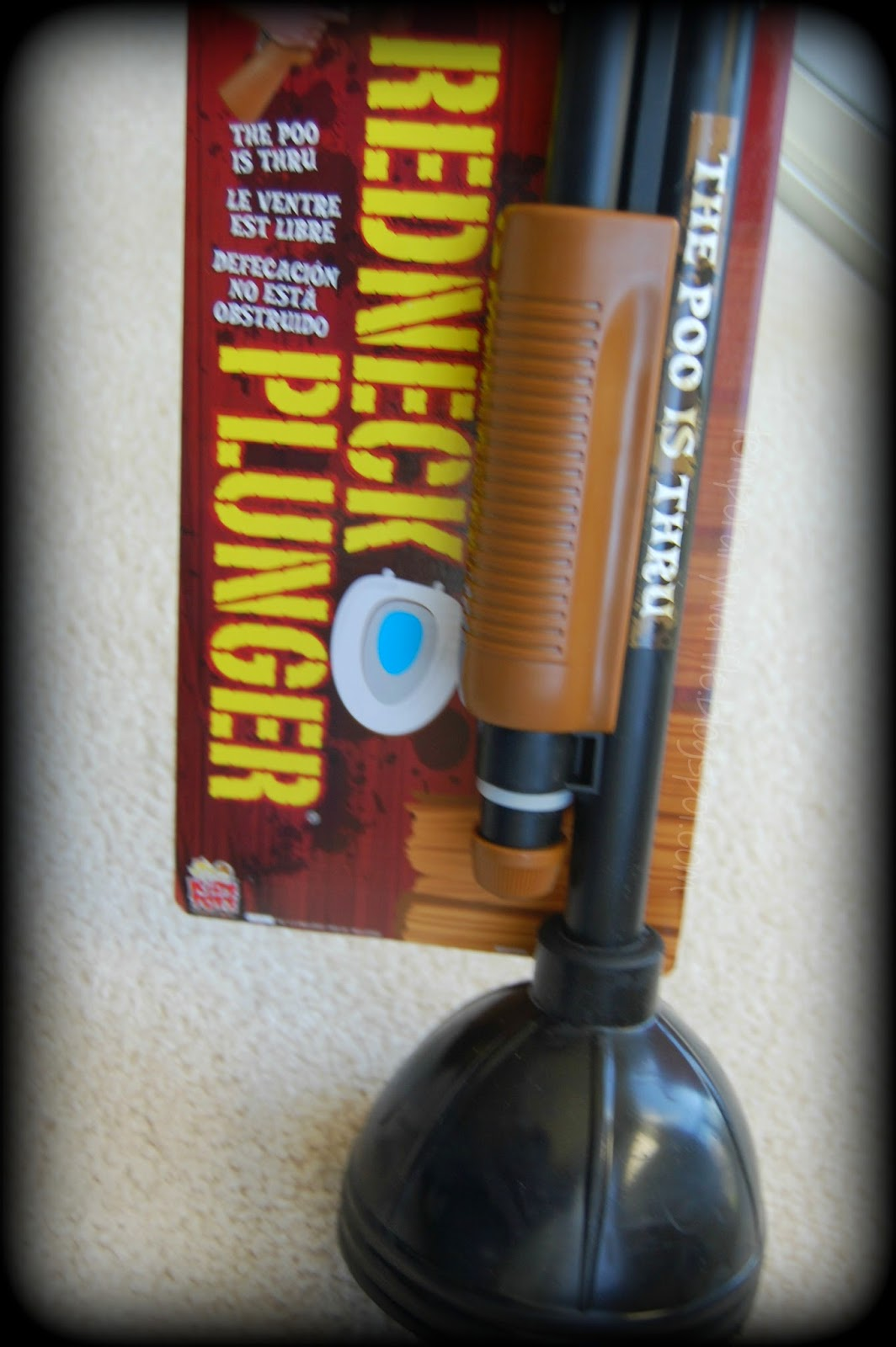 temporary waffle the redneck plunger the perfect funny gift. Black Bedroom Furniture Sets. Home Design Ideas
