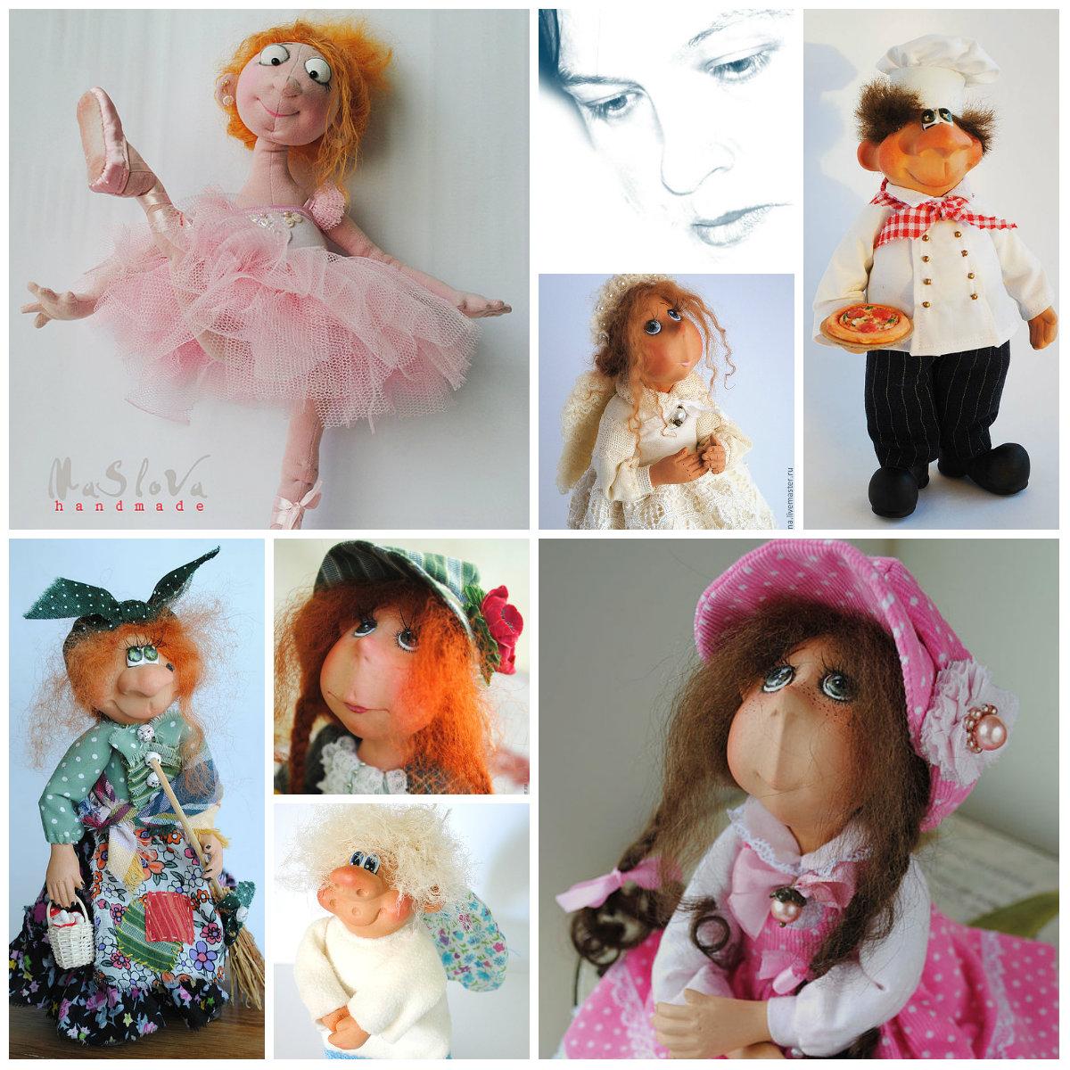 куклы Марины Масловой