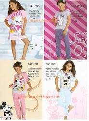 Pijamas  Y  Batas para  Niña  2012