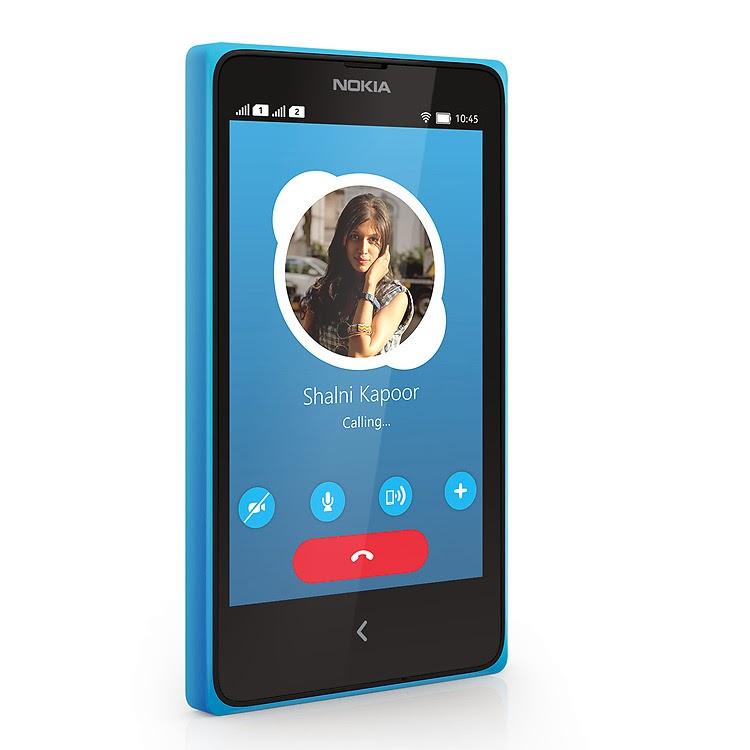Spesifikasi Nokia X+