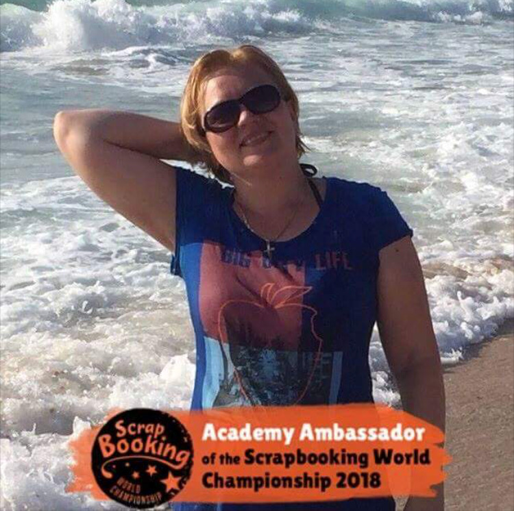 Ambassador at 1st World Scrapbooking Championship