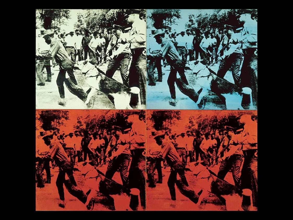 andy warhol race riot 1964