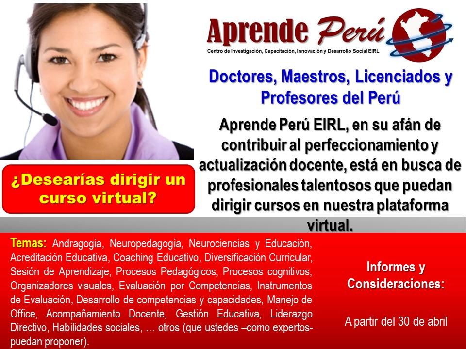 APRENDE PERU