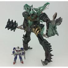 Pre-Order - Takara Tomy Transformers Movie 10th Anniversary MB-09 Grimlock & Mini Optimus Prime