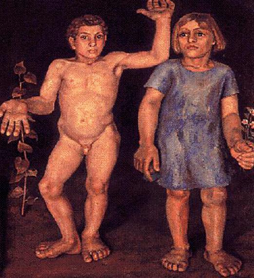 Resultado de imagen para pinturas de angeles Santos