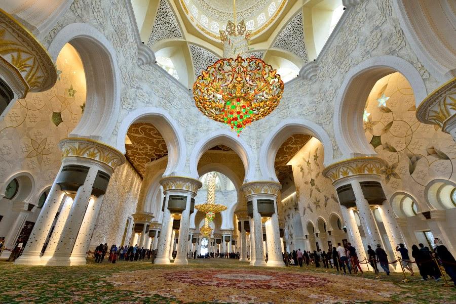 Mezquita Sheikh Zayed, Abu Dabi
