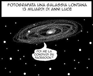 Astronomia, umorismo, vignetta