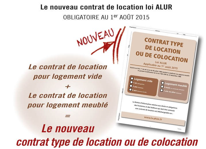 Modele bail location alur document online - Modele de contrat de location meuble ...