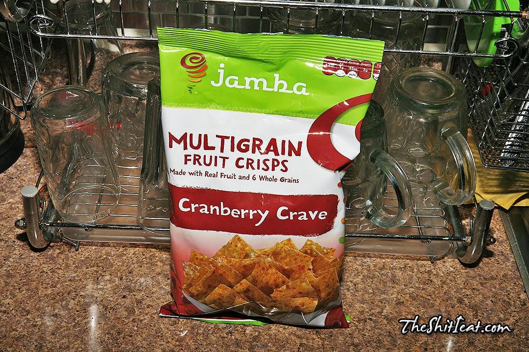 The Shit I Eat: Jamba Multigrain Cranberry Crave Fruit Crisps