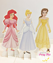 Used once: Disney Princess table standee RM35 each